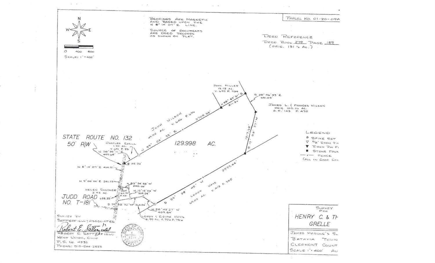 Land for Sale at 3960 St Rt 132 Batavia, Ohio 45103 United States