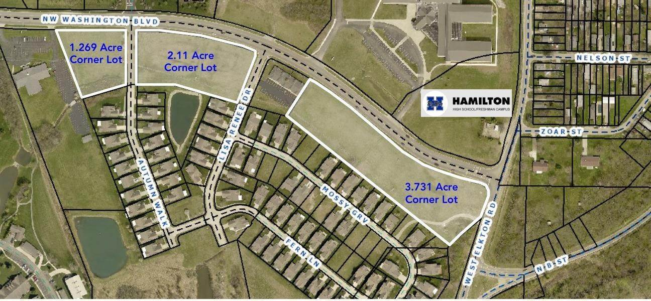 Land for Sale at 2101 NW Washington Boulevard Hamilton, Ohio 45013 United States