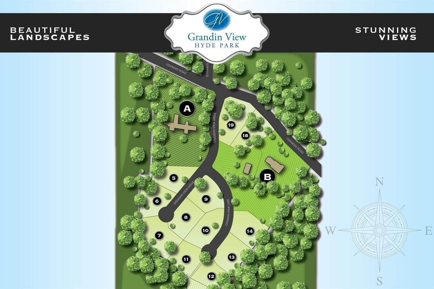 Land for Sale at 886 Grandin View Lane Cincinnati, Ohio 45208 United States