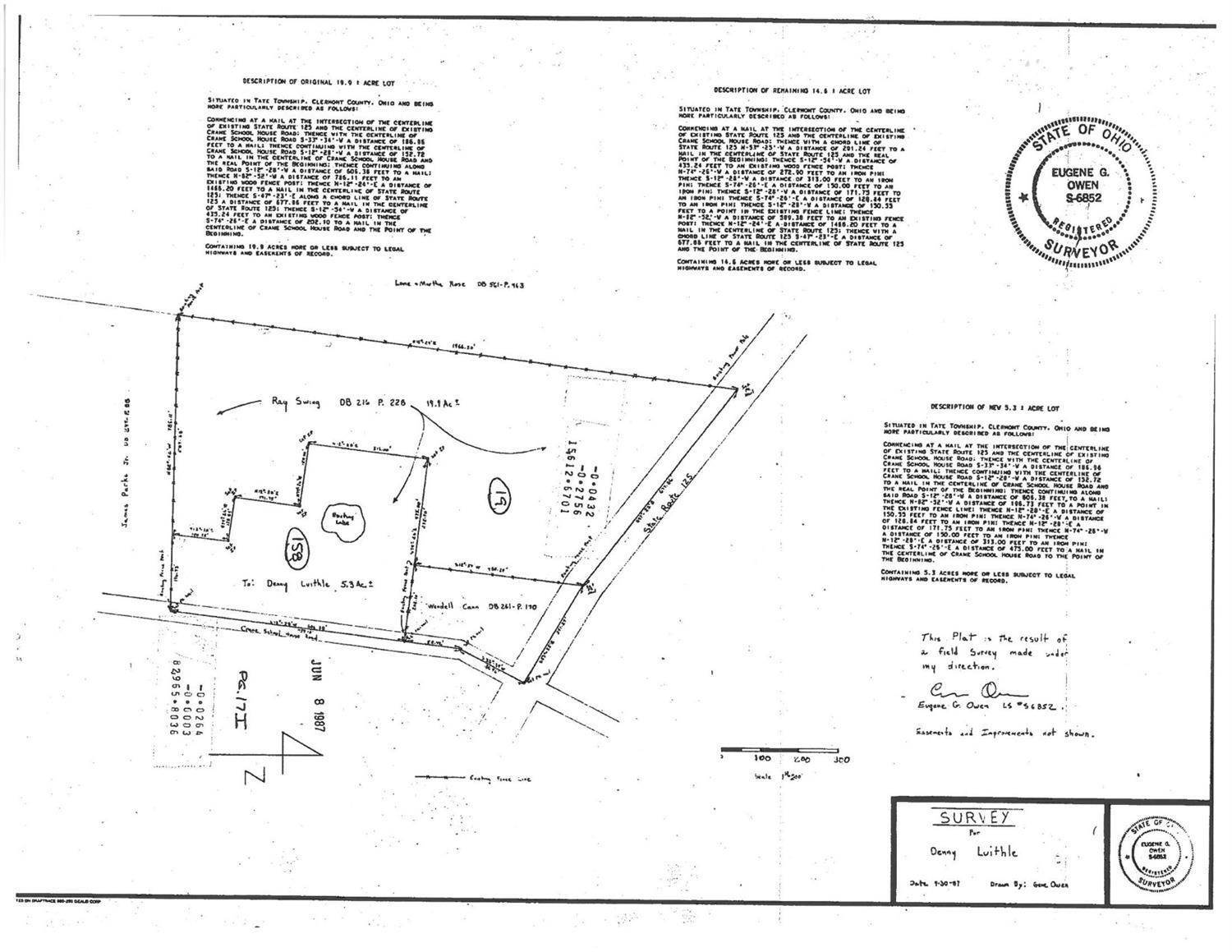 Acreage for Sale at St Rt 125 Tate Township, Ohio 45106 United States