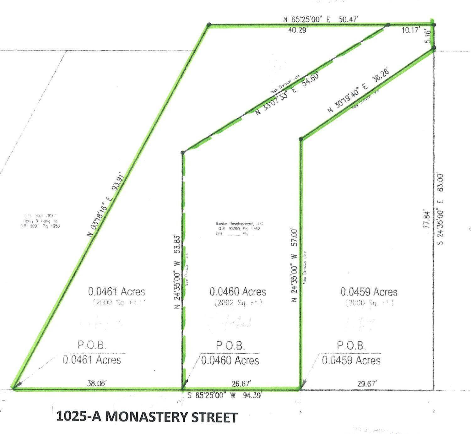Land for Sale at 1025 Monastery Street Cincinnati, Ohio 45202 United States