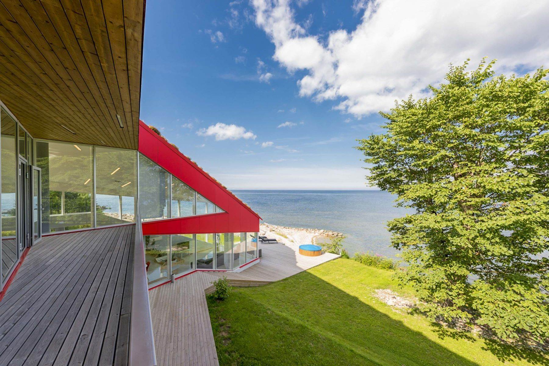 12. Single Family Homes for Sale at Serene Seafront Villa featuring Green Roof Other Cities In Estonia, Cities In Estonia Estonia