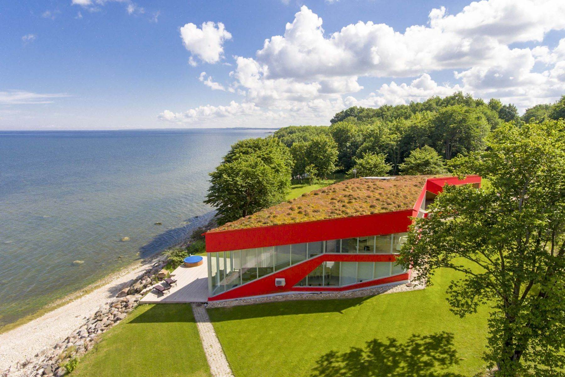 Single Family Homes for Sale at Serene Seafront Villa featuring Green Roof Other Cities In Estonia, Cities In Estonia Estonia