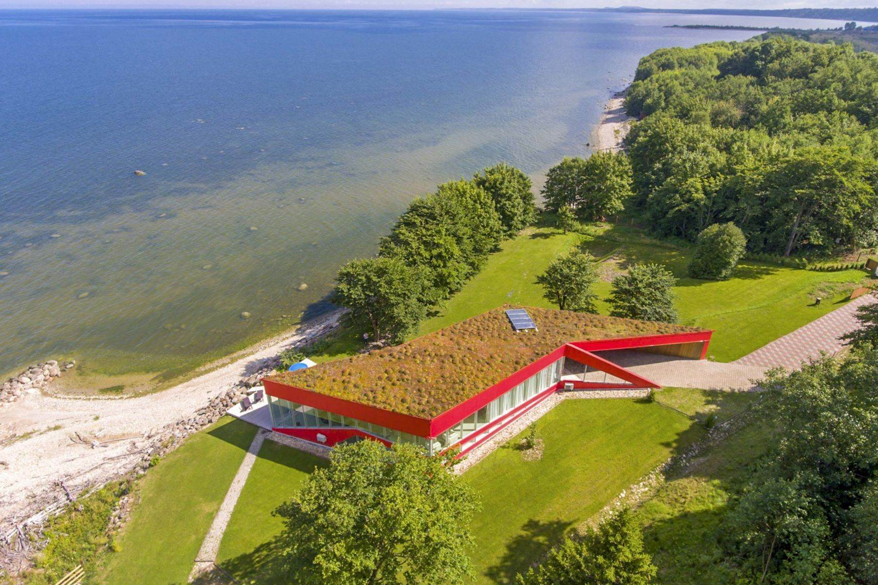 22. Single Family Homes for Sale at Serene Seafront Villa featuring Green Roof Other Cities In Estonia, Cities In Estonia Estonia