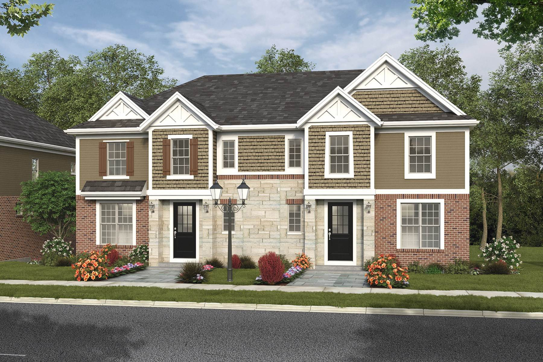 townhouses for Sale at Premiere Lifestyle Community built by Cedar Hill Custom Homes 9324 Old Plainfield Road Blue Ash, Ohio 45236 United States